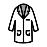 Lab Coat on OpenMoji 13.0