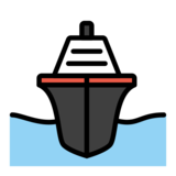 Passenger Ship on OpenMoji 13.0