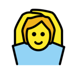 Person Gesturing OK on OpenMoji 13.0