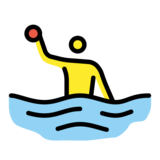 Person Playing Water Polo on OpenMoji 13.0