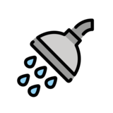 Shower on OpenMoji 13.0
