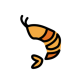 Shrimp on OpenMoji 13.0