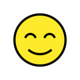 Smiling Face with Smiling Eyes on OpenMoji 13.0