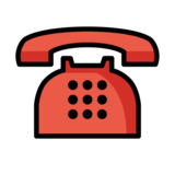 Telephone on OpenMoji 13.0