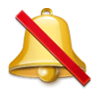 Bell with Slash on Samsung Experience 8.5