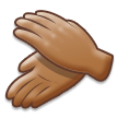 Clapping Hands: Medium Skin Tone on Samsung Experience 8.5