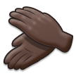 Clapping Hands: Dark Skin Tone on Samsung Experience 8.5