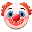 Clown Face on Samsung Experience 8.5