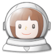 Woman Astronaut on Samsung Experience 8.5