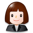 Woman Office Worker on Samsung Experience 8.5