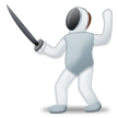 Person Fencing on Samsung Experience 8.5