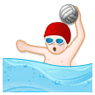 Man Playing Water Polo on Samsung Experience 8.5