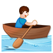 Man Rowing Boat on Samsung Experience 8.5