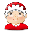 Mrs. Claus: Light Skin Tone on Samsung Experience 8.5