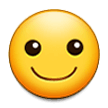 Smiling Face on Samsung Experience 8.5