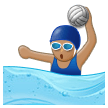 Woman Playing Water Polo: Medium Skin Tone on Samsung Experience 8.5