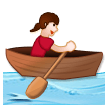 Woman Rowing Boat on Samsung Experience 8.5