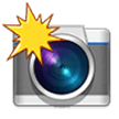Camera with Flash on Samsung Experience 9.0