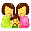 Family: Woman, Woman, Boy on Samsung Experience 9.0