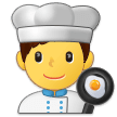 Man Cook on Samsung Experience 9.0