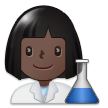 Woman Scientist: Dark Skin Tone on Samsung Experience 9.1