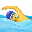 Man Swimming on Samsung Experience 9.1