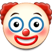Clown Face on Samsung Experience 9.5