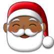 Santa Claus: Medium-Dark Skin Tone on Samsung Experience 9.5