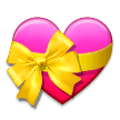Heart With Ribbon on Samsung Experience 9.5