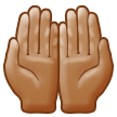 Palms Up Together: Medium Skin Tone on Samsung Experience 9.5