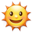 Sun With Face on Samsung Experience 9.5