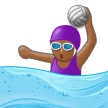Woman Playing Water Polo: Medium-Dark Skin Tone on Samsung Experience 9.5