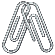 Linked Paperclips on Samsung One UI 1.0