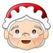 Mrs. Claus: Light Skin Tone on Samsung One UI 1.0
