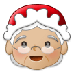 Mrs. Claus: Medium-Light Skin Tone on Samsung One UI 1.0
