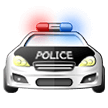 Oncoming Police Car on Samsung One UI 1.0
