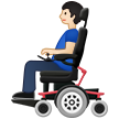 Man in Motorized Wheelchair: Light Skin Tone on Samsung One UI 1.5
