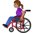 Woman in Manual Wheelchair: Medium Skin Tone on Samsung One UI 1.5