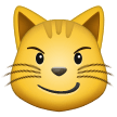Cat with Wry Smile on Samsung One UI 2.0