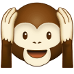 Hear-No-Evil Monkey on Samsung One UI 2.0