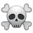 Skull and Crossbones on Samsung One UI 2.0