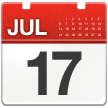 Calendar on Samsung One UI 2.1