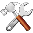 Hammer and Wrench on Samsung One UI 2.1
