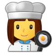 Woman Cook on Samsung One UI 2.1