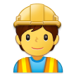 Construction Worker on Samsung One UI 2.5