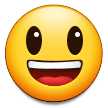 Grinning Face with Big Eyes on Samsung One UI 2.5