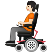 Person in Motorized Wheelchair: Light Skin Tone on Samsung One UI 2.5