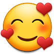 Smiling Face with Hearts on Samsung One UI 3.1.1