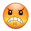 Angry Face on Samsung TouchWiz Nature UX 2
