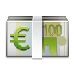 Euro Banknote on Samsung TouchWiz Nature UX 2